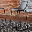 Signature Design by Ashley Centiar Tall Upholstered Barstool - Item Number: D372-830