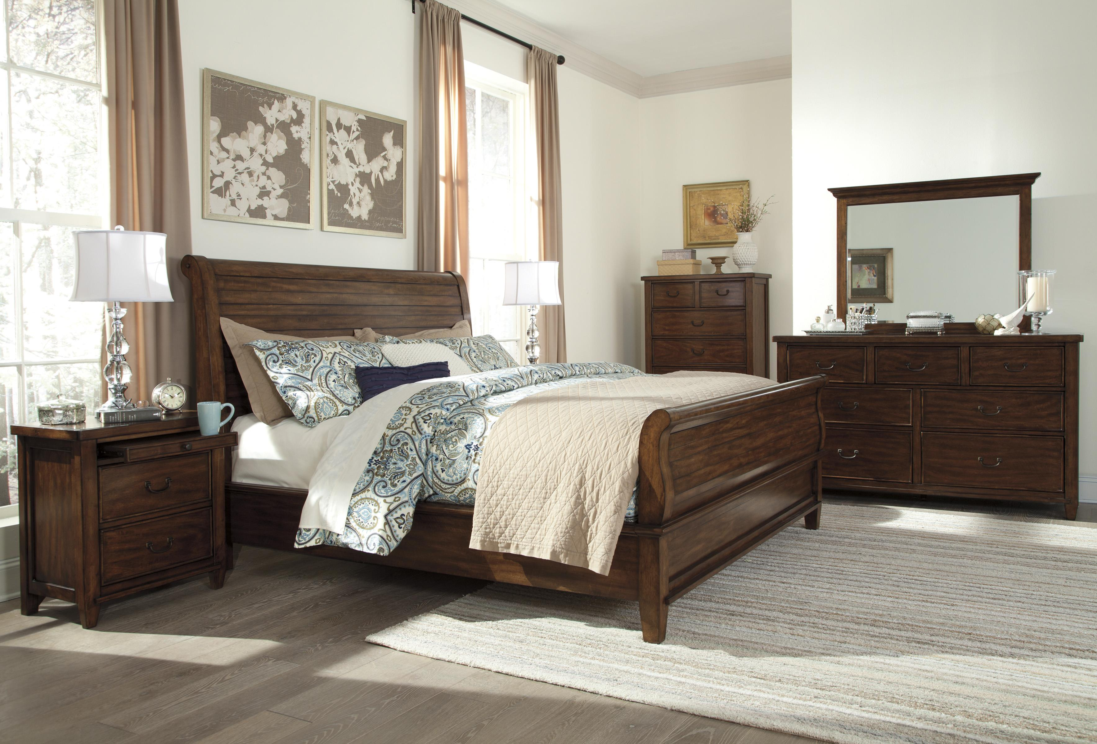 Signature Design by Ashley Chaddinfield Queen Bedroom Group - Item Number: B648 Q Bedroom Group 1