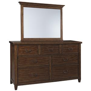 Signature Design by Ashley Chaddinfield Dresser & Bedroom Mirror