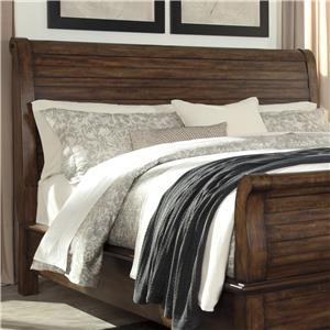 Signature Design by Ashley Chaddinfield Queen Sleigh Headboard
