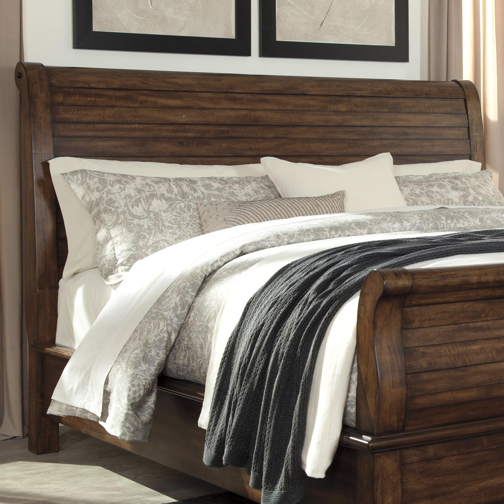 Signature Design by Ashley Chaddinfield King/Cal King Sleigh Headboard - Item Number: B648-78