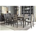 Signature Design by Ashley Chadoni Chadoni Formal Dining Room Group - Item Number: D624 5-PC