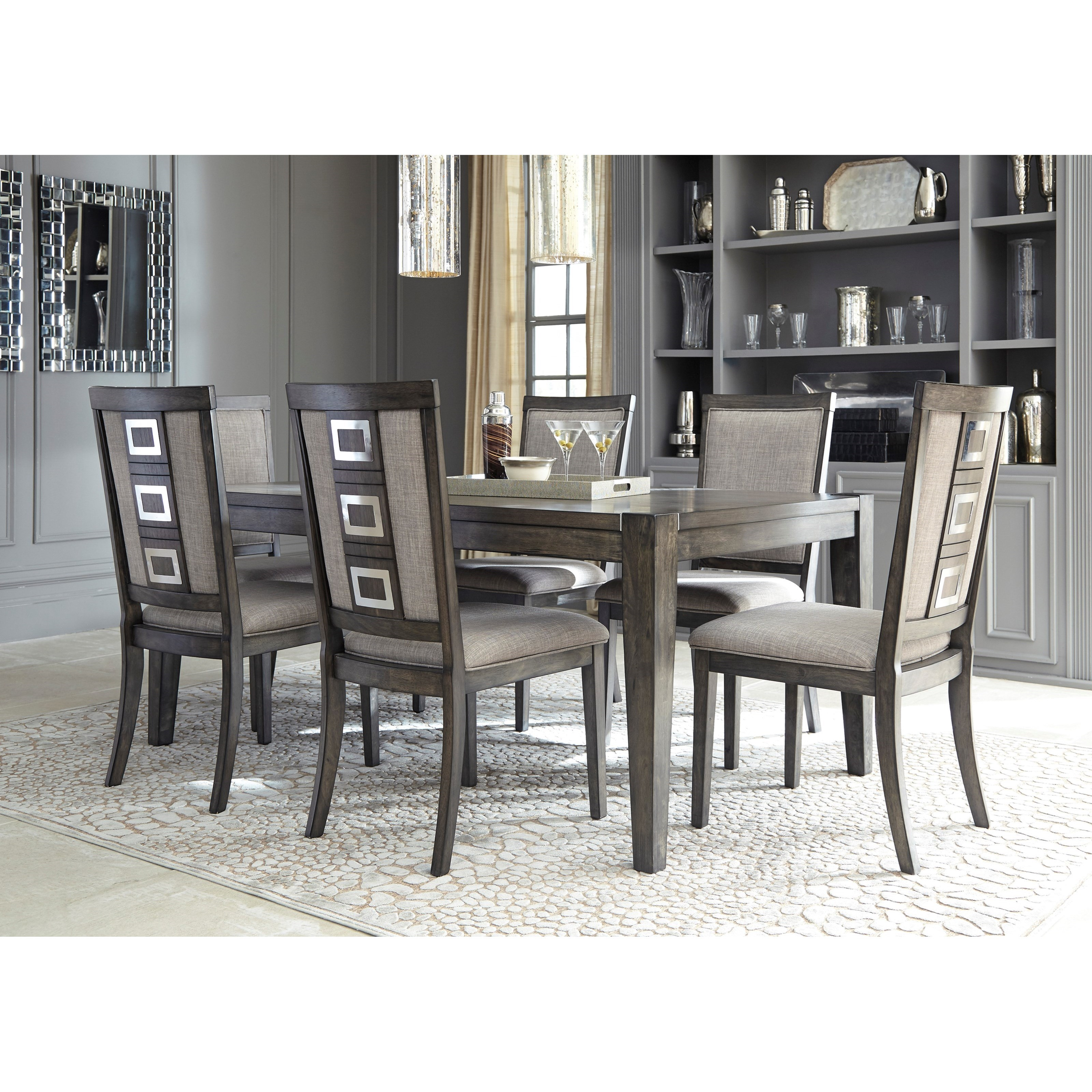 Ashley S Nest Decorating A Dining Room: Signature Design By Ashley Chadoni D624-01 Contemporary