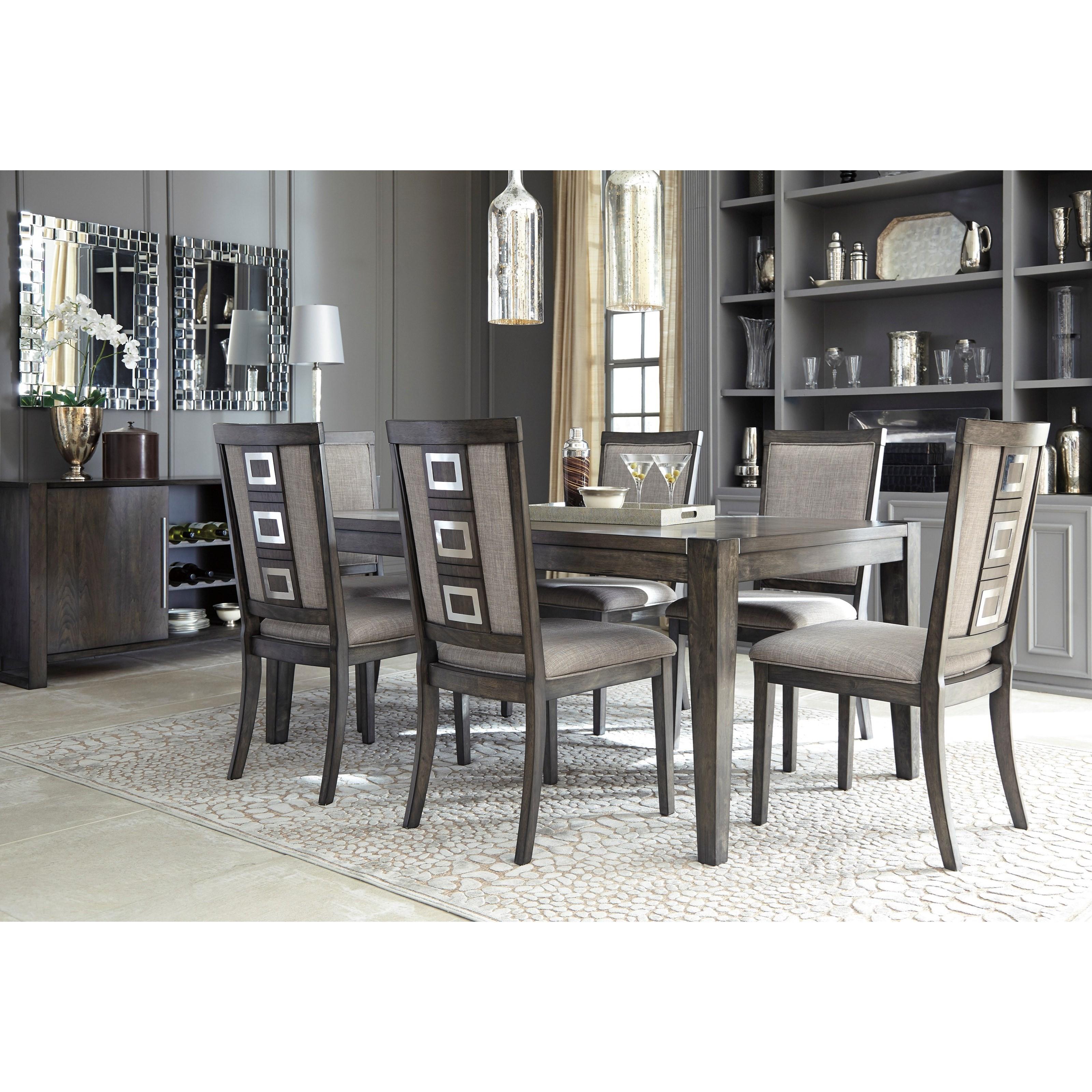 Server Room Furniture : Ashley signature design chadoni d contemporary