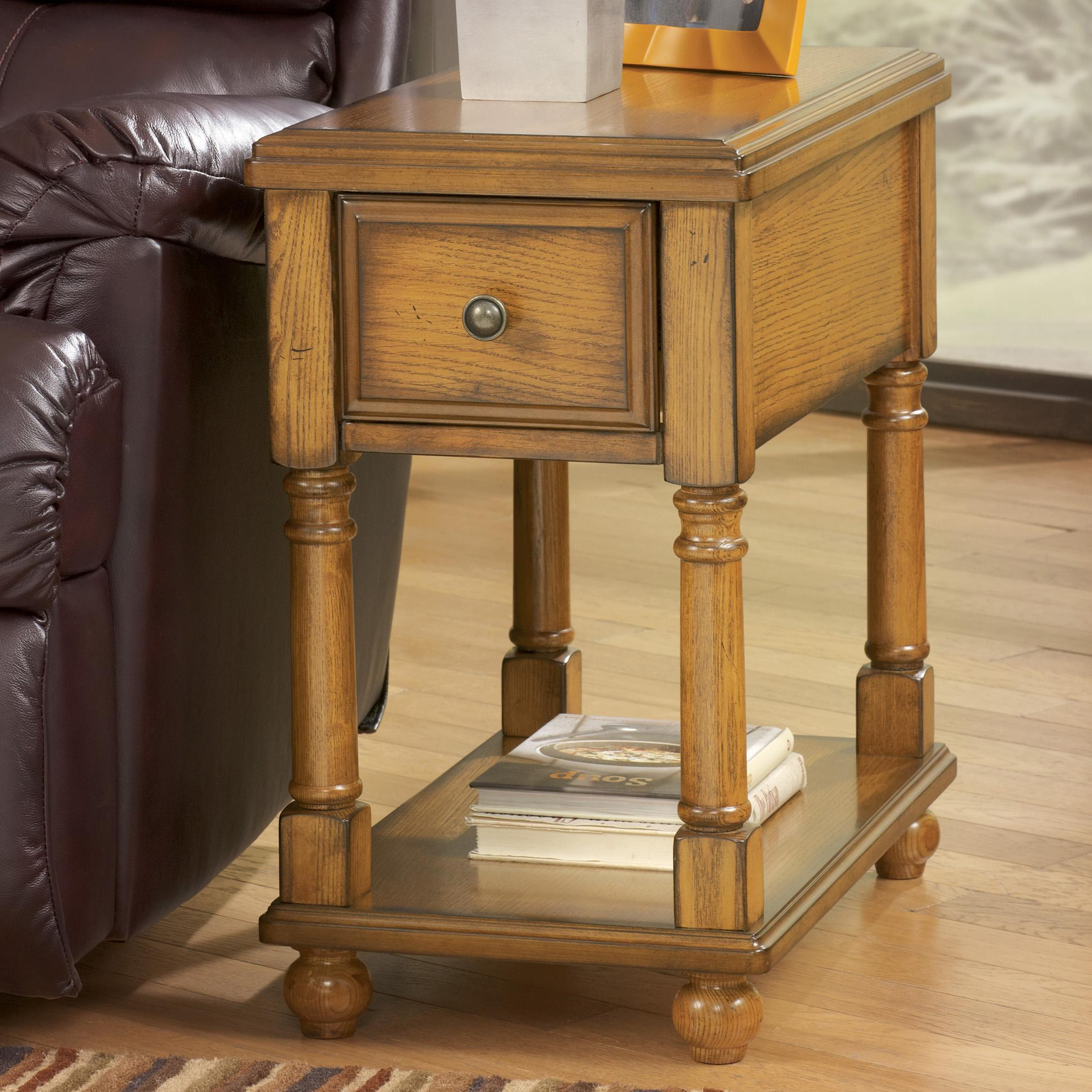Signature Design by Ashley Breegin Chairside End Table - Item Number: T007-430