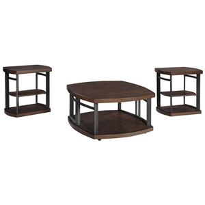 Signature Design by Ashley Furniture Challiman Occasional Table Set