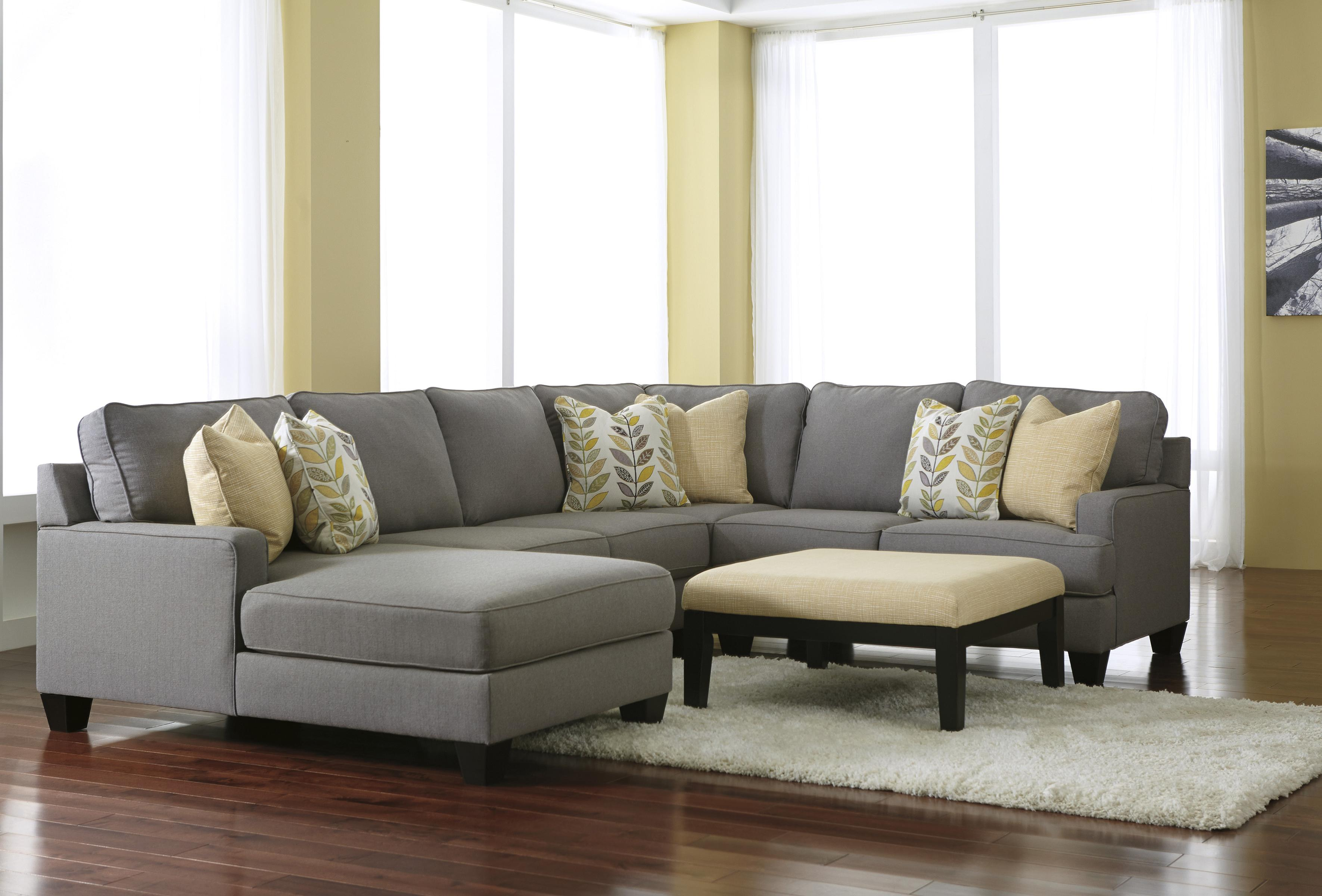 Signature Design by Ashley Chamberly - Alloy Stationary Living Room Group - Item Number: 24302 Living Room Group 6