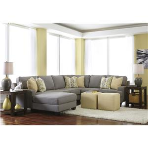 Signature Design by Ashley Chamberly - Alloy Stationary Living Room Group