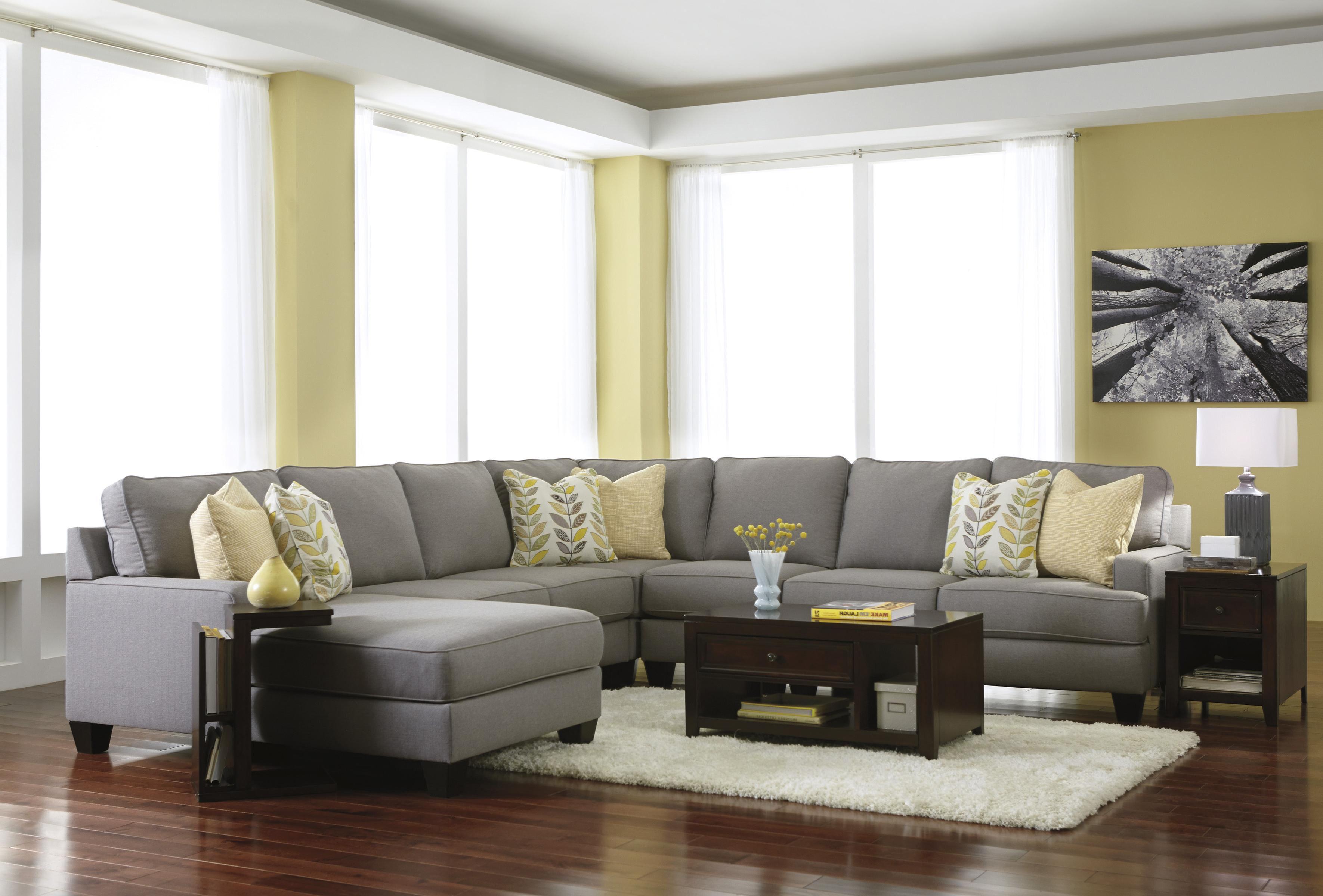 Signature design by ashley chamberly alloy modern 5 for 5 piece living room furniture