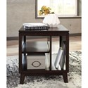 Signature Design by Ashley Chanceen Rectangular End Table with Open Shelves