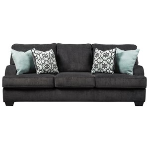 Casual Sofa with English Arms