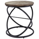 Signature Design by Ashley Charliburi Round End Table - Item Number: T644-6
