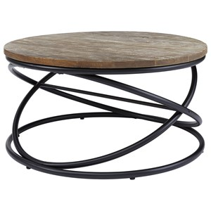 Ashley (Signature Design) Charliburi Round Cocktail Table