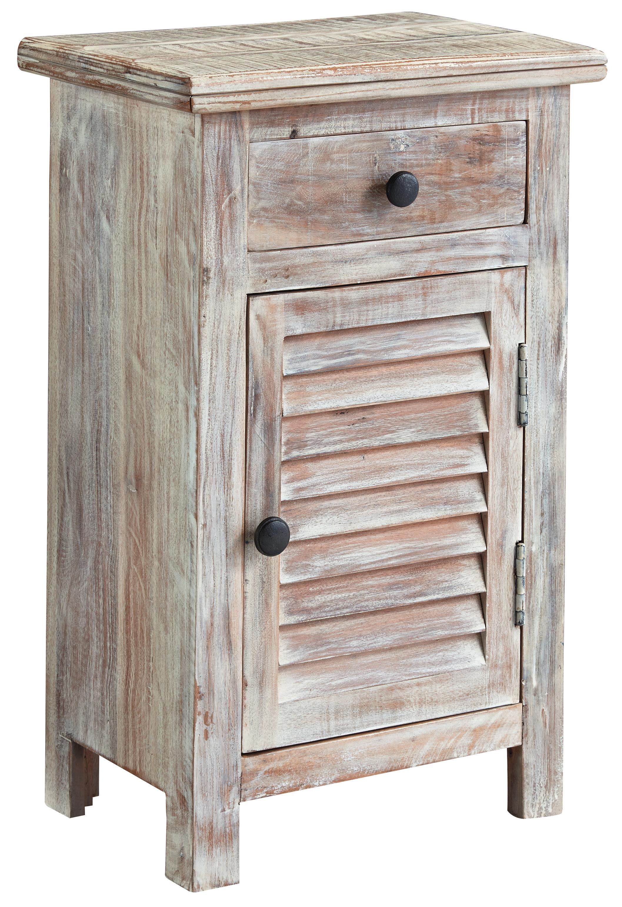 Signature Design by Ashley Charlowe Door Night Stand - Item Number: B013-292