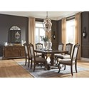 Signature Design by Ashley Serena Formal Dining Room Group - Item Number: D803 Dining Room Group 1