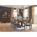 Signature Design by Ashley Charmond Formal Dining Room Group - Item Number: D803 Dining Room Group 3