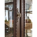 Signature Design by Ashley Charmond Traditional China Cabinet with Built-in Lighting