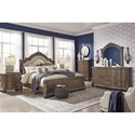 Signature Design by Ashley Charmond California King Bedroom Group - Item Number: B803 CK Bedroom Group 2