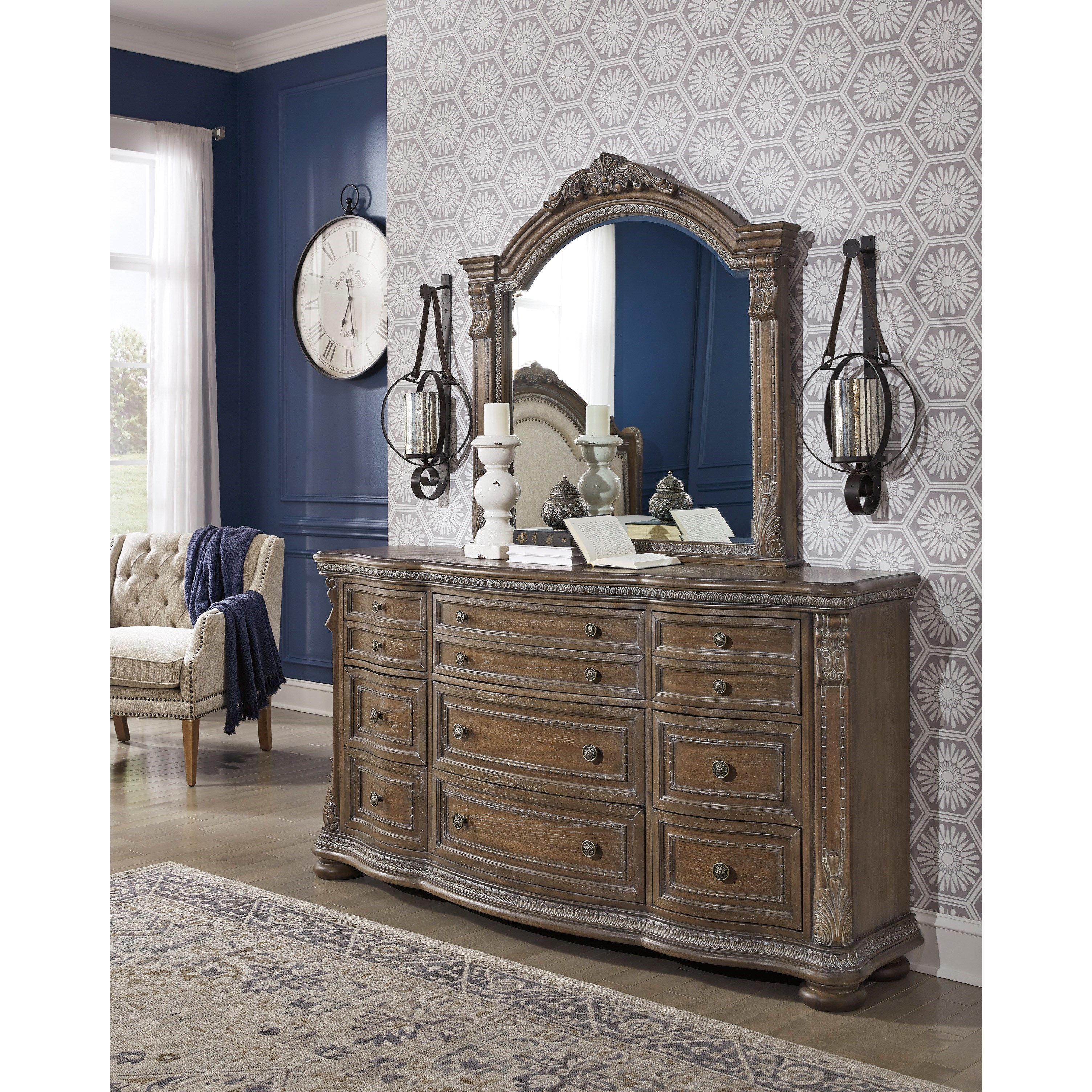Ashley Furniture Current Sales Ad: Signature Design By Ashley Charmond Bedroom Mirror