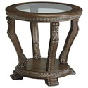 Signature Design by Ashley Charmond Round End Table - Item Number: T713-6