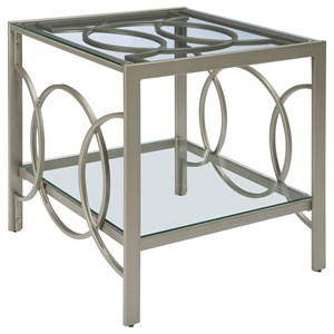Ashley Signature Design Charmoni Rectangular End Table