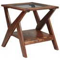 Signature Design by Ashley Charzine Rectangular End Table - Item Number: T248-3