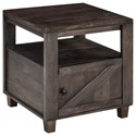 Signature Design by Ashley Chaseburg Square End Table - Item Number: T848-2