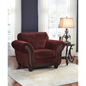 Signature Design by Ashley Chesterbrook Traditional Chair & Ottoman