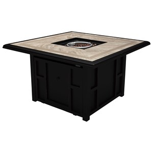 Signature Design by Ashley Chestnut Ridge Square Fire Pit Table