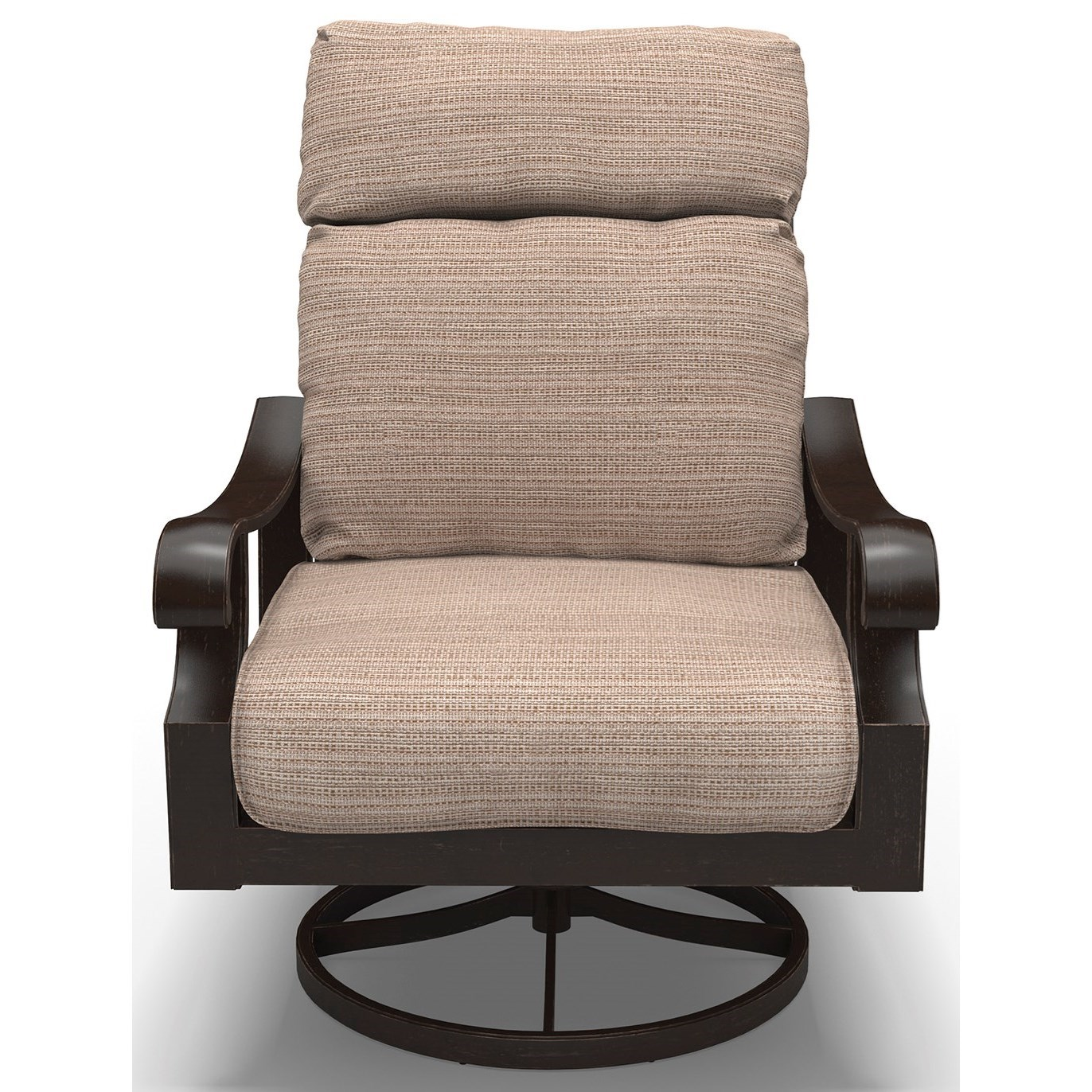 Signature Design by Ashley Chestnut Ridge Set of 2 Swivel Lounge Chairs with Cushion - Item Number: P445-821