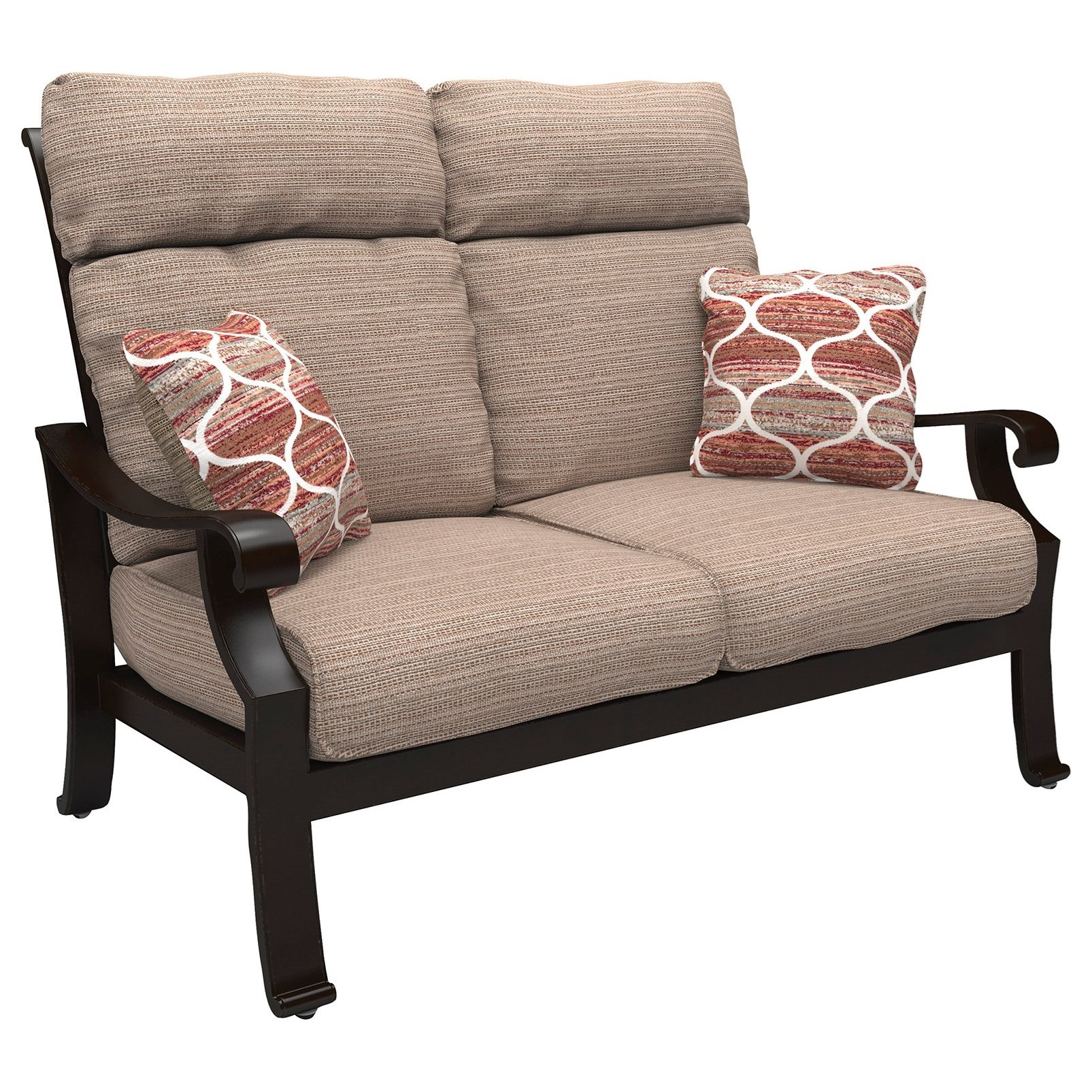 Signature Design By Ashley Chestnut Ridge High Back Loveseat With Cushion Value City Furniture