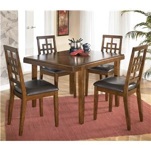 Signature Design by Ashley Cimeran Rectangular Table w/ 4 Side Chairs