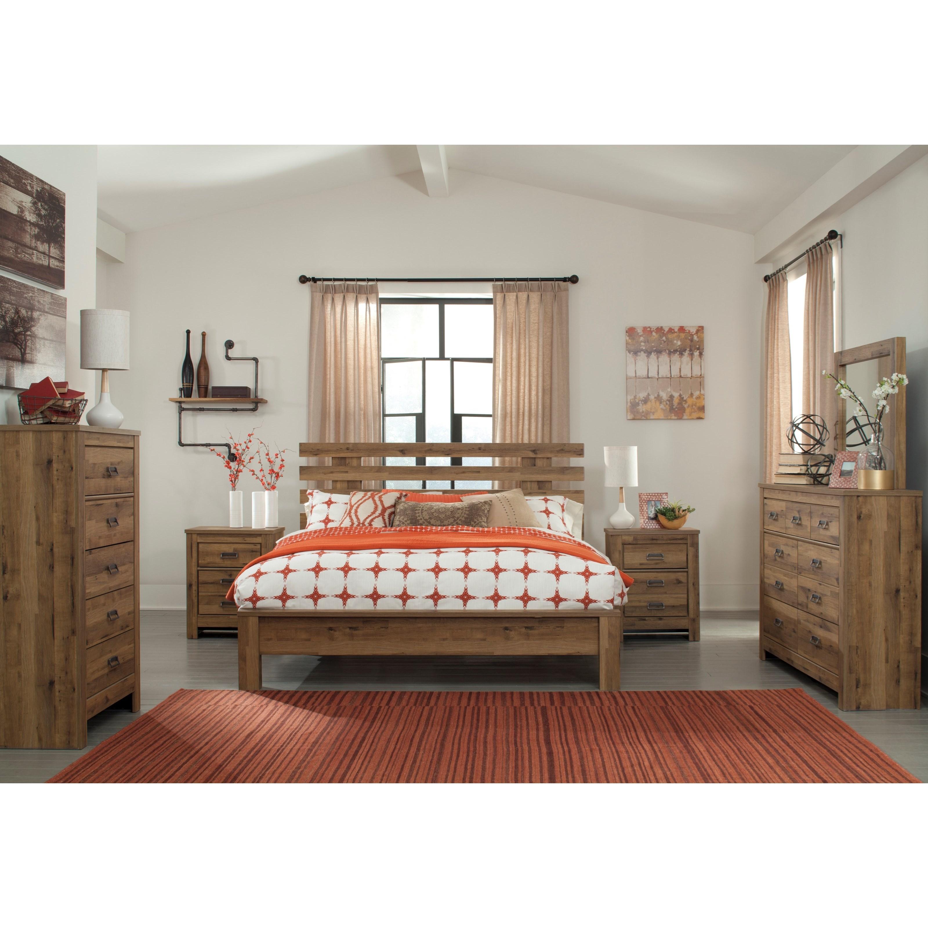 Signature Design by Ashley Cinrey King Bedroom Group - Item Number: B369 K Bedroom Group 2