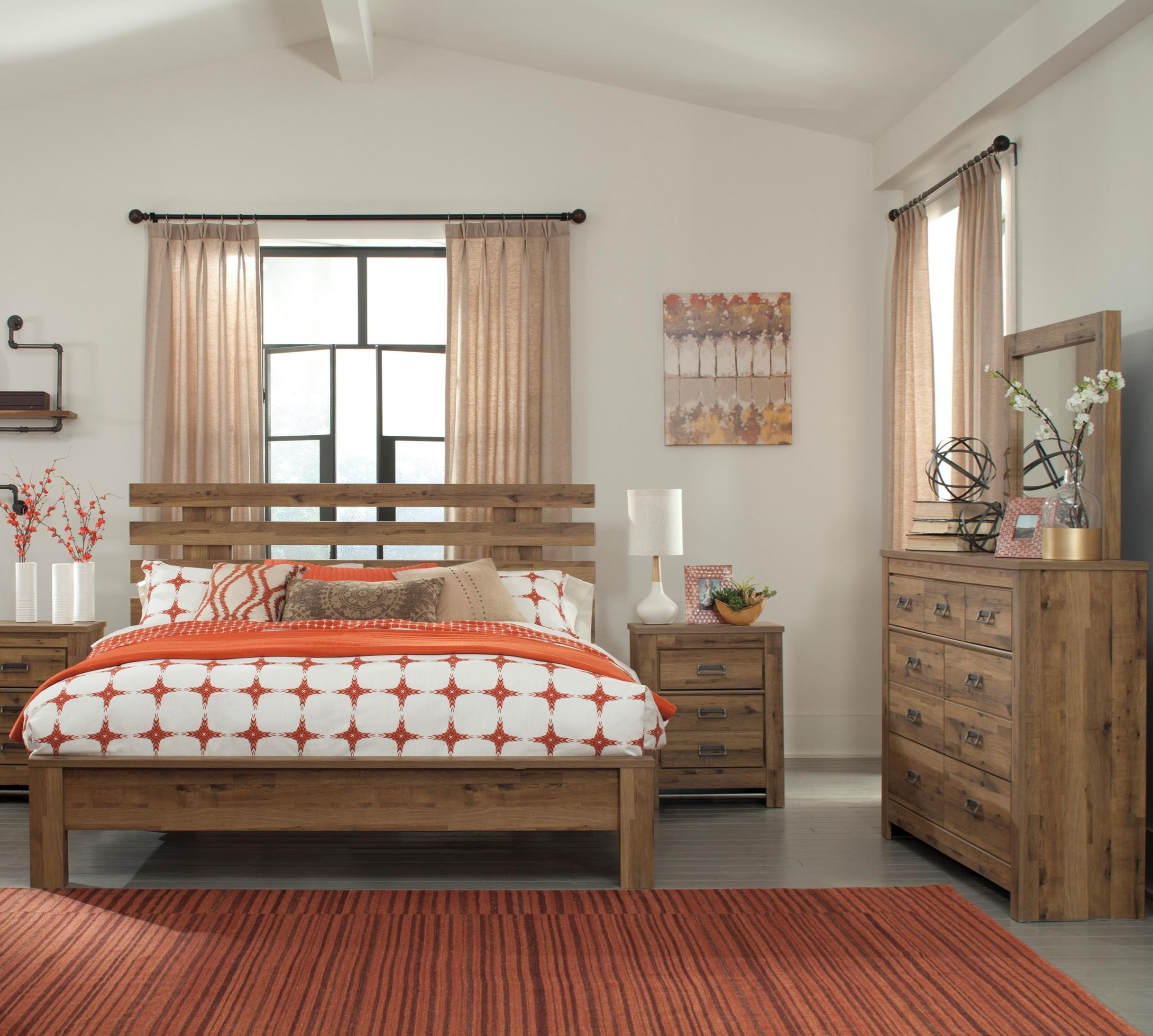 Signature Design by Ashley Cinrey King Bedroom Group - Item Number: B369 K Bedroom Group 4