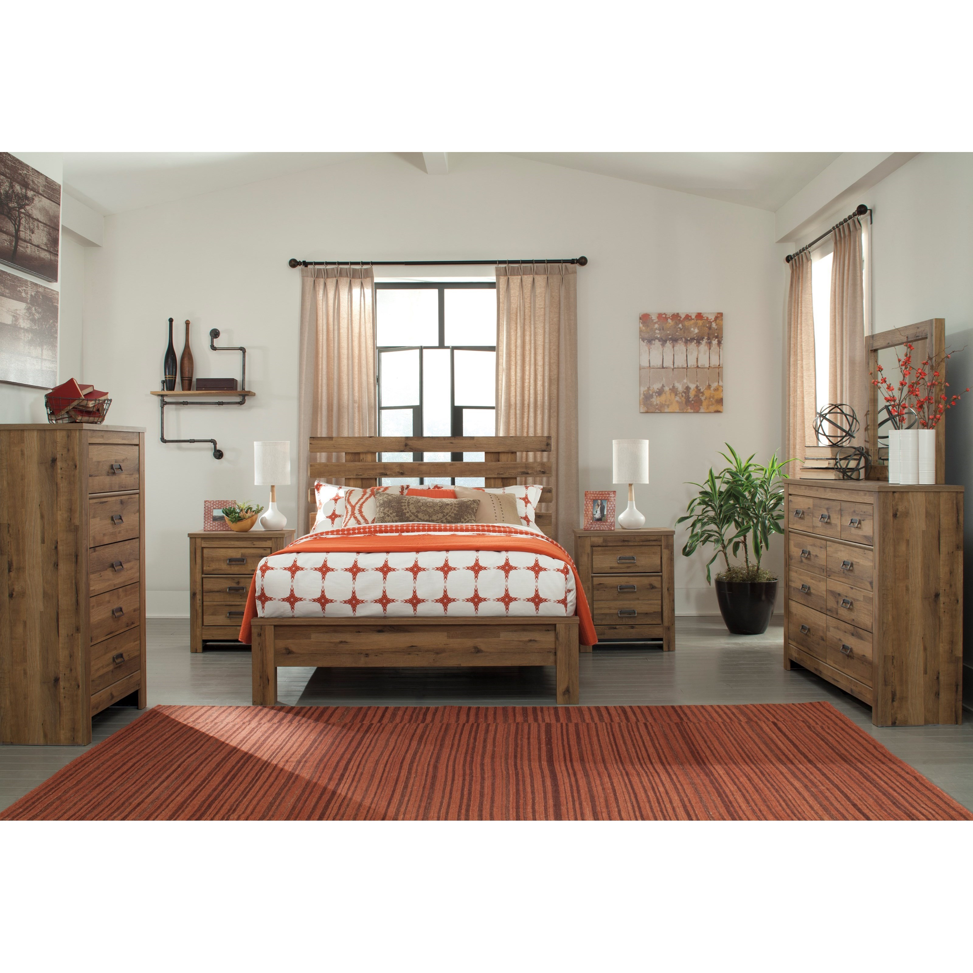 Signature Design by Ashley Simon 5PC Queen Bedroom Set - Item Number: B369 Q Bedroom Group 2