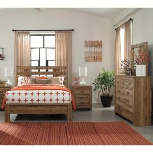 Signature Design by Ashley Cinrey 4PC Queen Bedroom Set