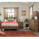 Signature Design by Ashley Cinrey Queen Bedroom Group - Item Number: B369 Q Bedroom Group 4