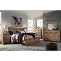 Signature Design by Ashley Cinrey King Bedroom Group - Item Number: B369 K Bedroom Group 5