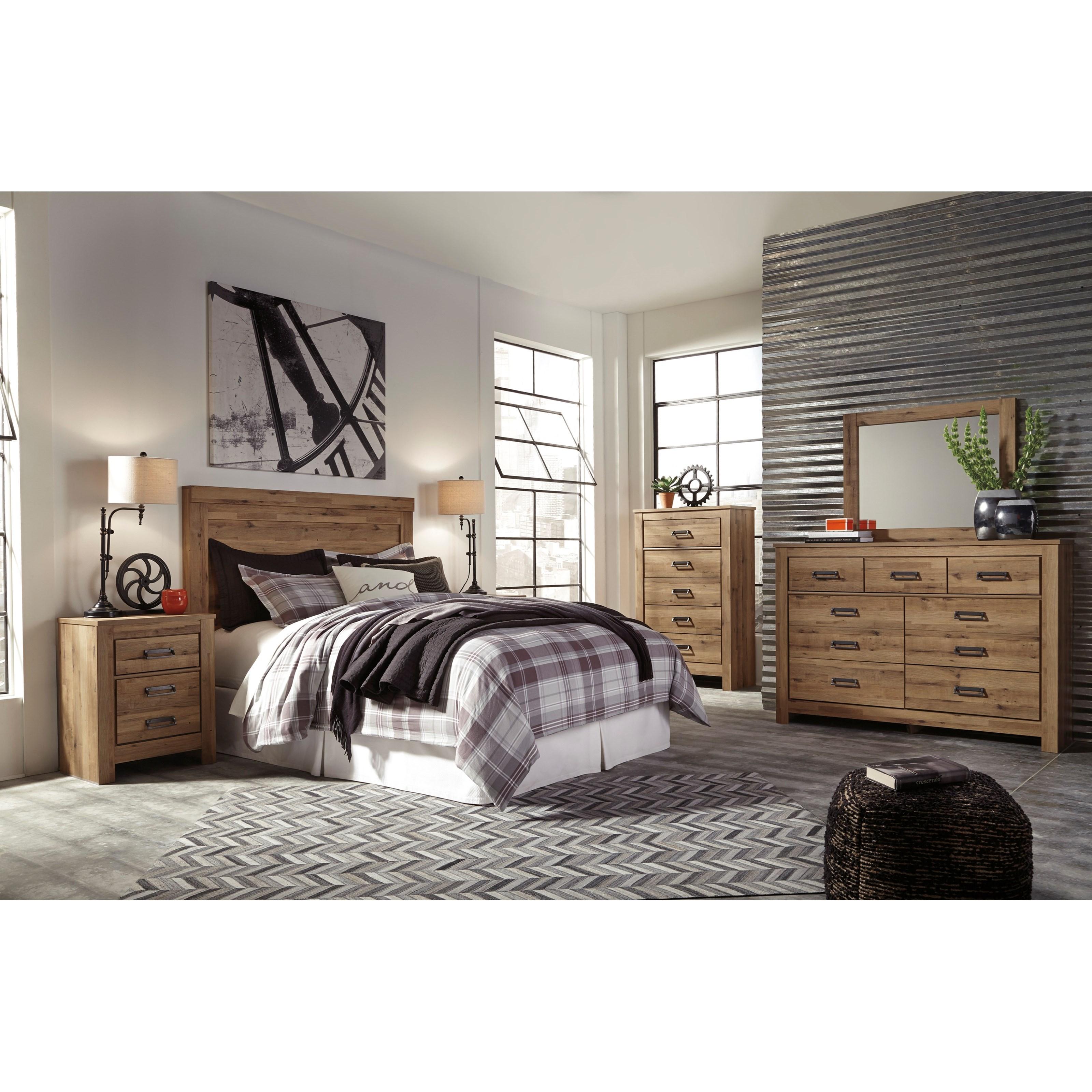 Signature Design By Ashley Cinrey King Bedroom Group Rotmans Bedroom Groups Worcester