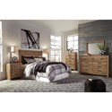 Signature Design by Ashley Cinrey Queen Bedroom Group - Item Number: B369 Q Bedroom Group 7