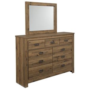 Signature Design by Ashley Cinrey Dresser & Mirror