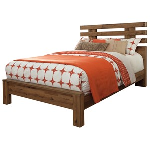Signature Design by Ashley Cinrey Queen Panel Bed