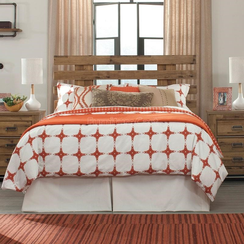 Signature Design by Ashley Cinrey Queen Panel Headboard - Item Number: B369-57