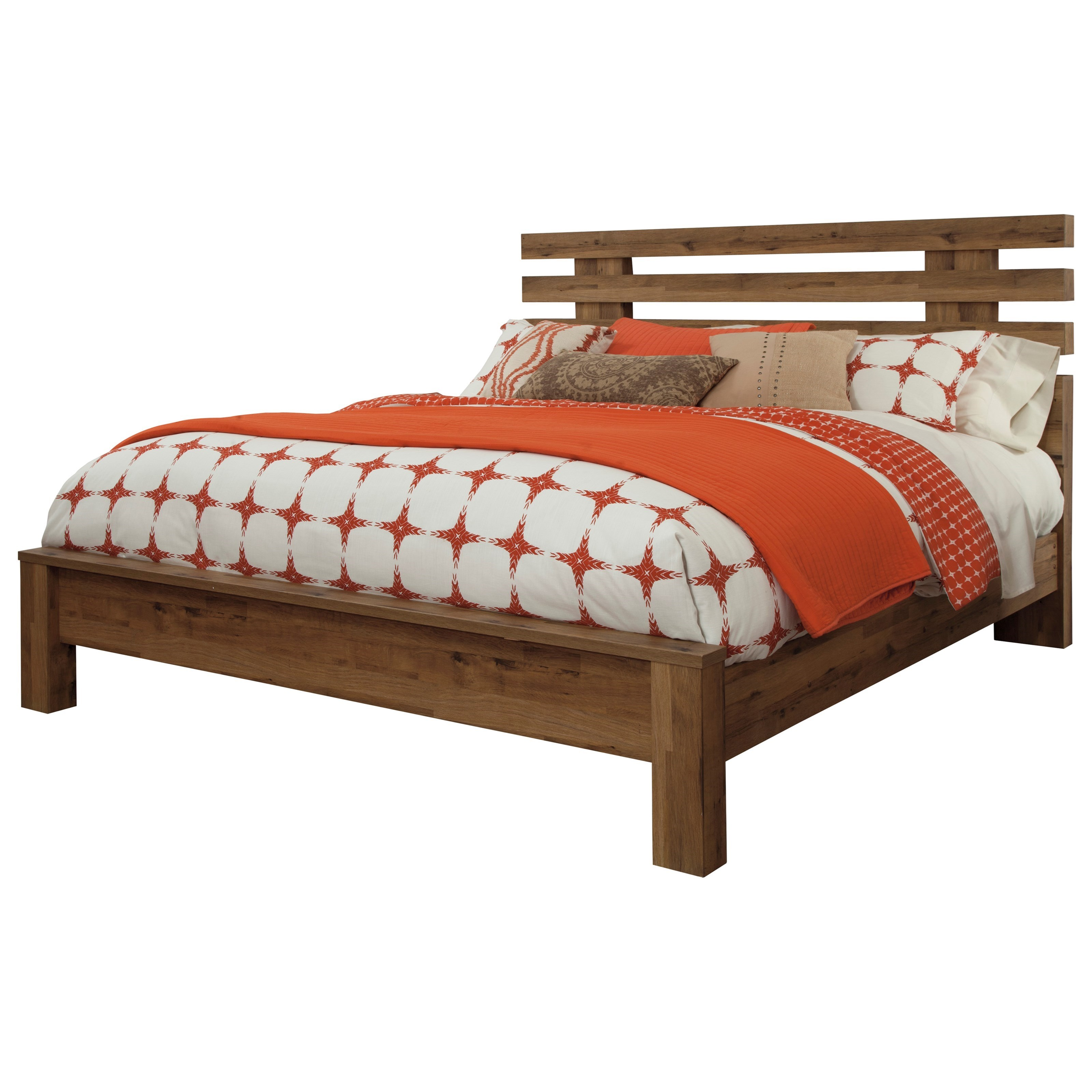 Signature Design by Ashley Simon King Panel Bed - Item Number: B369-58+56+97