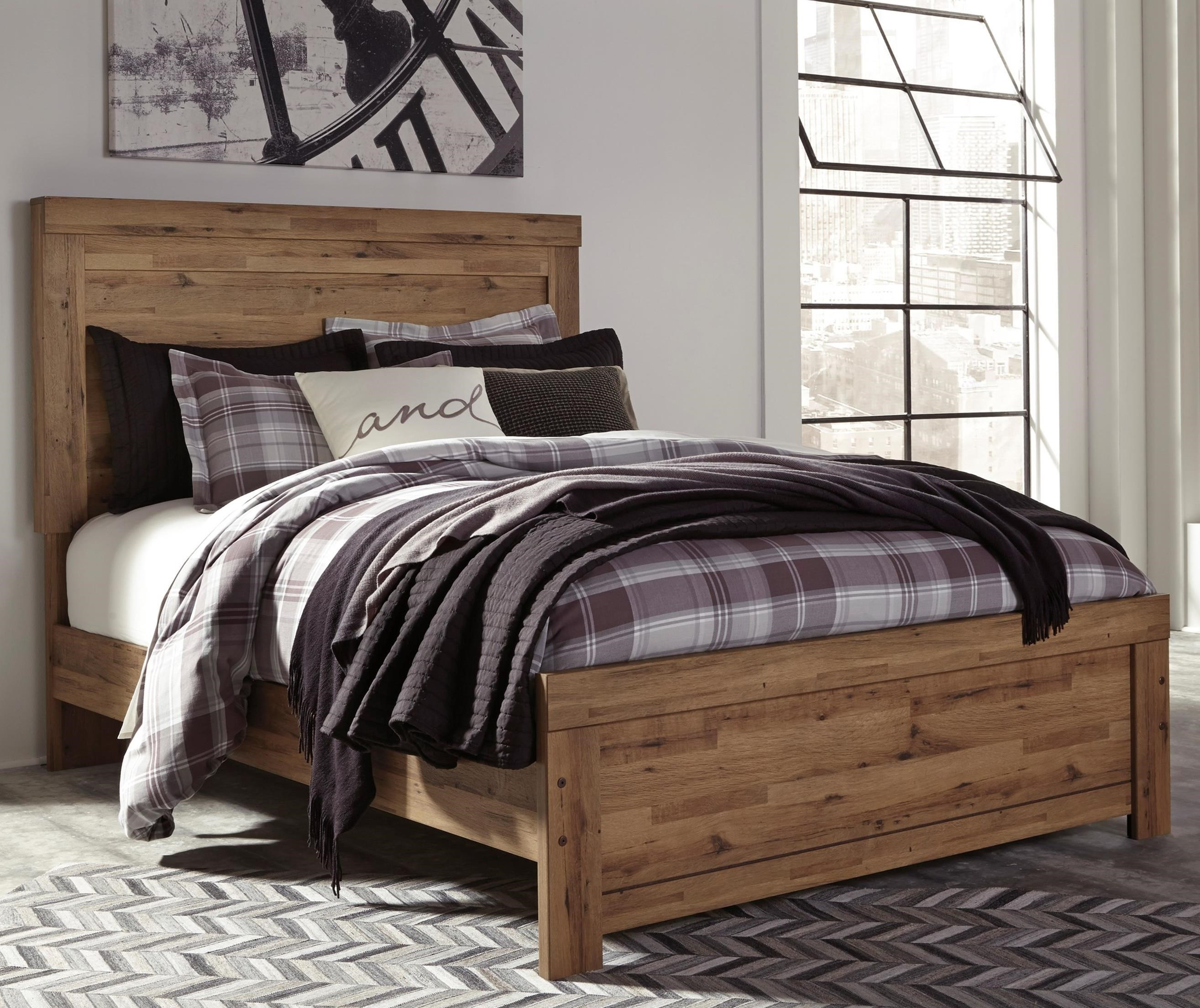 Signature design by ashley cinrey queen panel bed item number b369 77