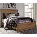Signature Design by Ashley Cinrey Queen Panel Bed - Item Number: B369-77+74+98