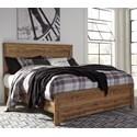 Signature Design by Ashley Cinrey King Panel Bed - Item Number: B369-78+76+99