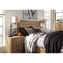 Signature Design by Ashley Cinrey King Panel Bed