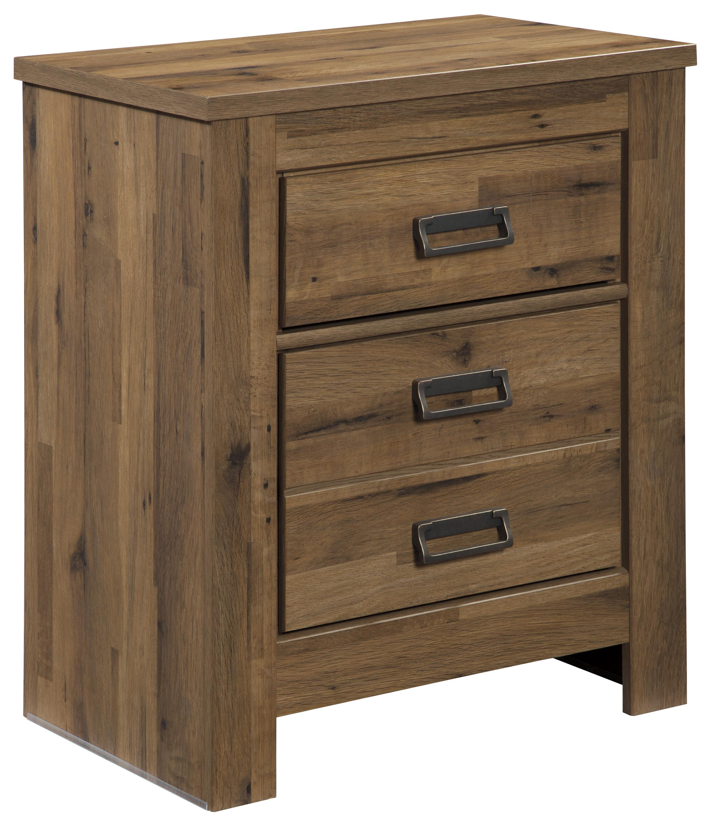 Signature Design by Ashley Simon Two Drawer Night Stand - Item Number: B369-92