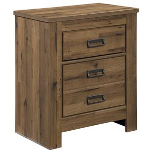 Signature Design by Ashley Simon Two Drawer Night Stand